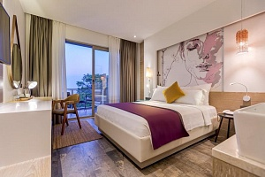 Deluxe Room with Sea View | Melanippe Relaxing Hotel